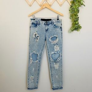 ONE TEASPOON Sz 26 Distressed Jeans
